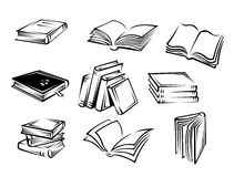 Books and magazines Royalty Free Stock Photography