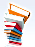 Books massive Royalty Free Stock Photo