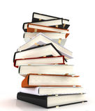 books massivt Arkivfoton