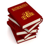 Books of MATHEMATICS Stock Photography