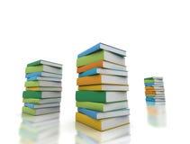 Books multi color Stock Photo