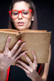 Books Are My Passion - Sexy Geek Stock Images