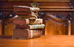 Books of mystery. Royalty Free Stock Photography