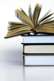 Books Over Each Other Royalty Free Stock Photos