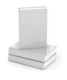 Books over white. White hard cover books over white background Stock Images