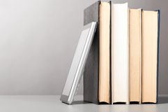 Books and pad Stock Photos