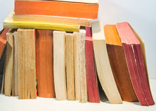 Books. And pages close-up photo useful for banners and web designers and also print Royalty Free Stock Photography