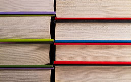 Books pages closeup royalty free stock image