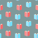 Books pattern seamless Stock Image