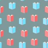 Books pattern seamless Stock Image