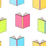 Books pattern seamless Royalty Free Stock Photos