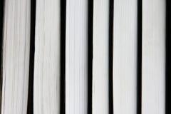 Books pattern  on white Stock Photo