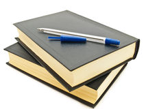 Books and pen Royalty Free Stock Image