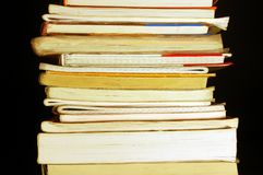 Books pile Royalty Free Stock Photo