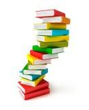 Books in pile Stock Photos