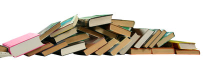 Books pile Stock Photography