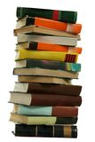Books pile royalty free stock photography