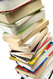 Books pile stock images
