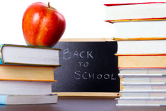 Books ready for back to school Royalty Free Stock Images