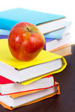 Books ready for back to school Royalty Free Stock Photo