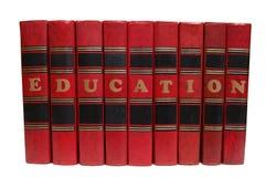 books red Arkivbild