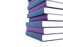 Books rendered Royalty Free Stock Photos