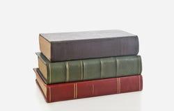 Books. Retro books on white background Royalty Free Stock Photos