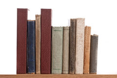 Books in a row Stock Photo