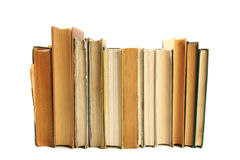 Books in a row Royalty Free Stock Image