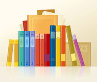 Books row Stock Photo