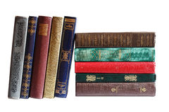 Books in a row Royalty Free Stock Photography