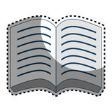 Books school supply icon Stock Images