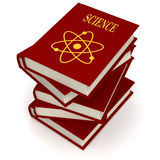 Books of SCIENCE Royalty Free Stock Photos