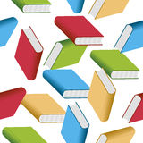 Books seamless pattern Stock Photography