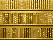 Books sepia Royalty Free Stock Photography