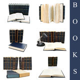 Books set Stock Photography