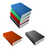 Books set Royalty Free Stock Images