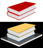 Books on the shelf. Royalty Free Stock Images