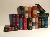 Books. Shelf with books Royalty Free Stock Photos