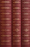 Books on a Shelf Stock Image
