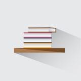Books on the shelf Stock Photography