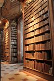 Books Shelves in Österreichische - National Library. Wien - Austria Royalty Free Stock Photography