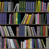 Books on shelves seamless Royalty Free Stock Photography
