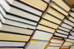 Books on shelves Stock Photo