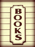 Books Sign Stock Photos