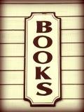 Books Sign Stock Photos