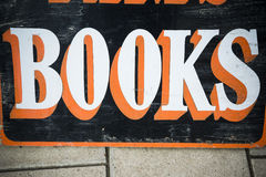 Books sign Stock Image