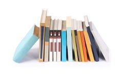 books skrivbordet Royaltyfri Foto