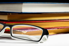 Books and Spectacles Royalty Free Stock Image