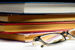 Books and Spectacles Stock Images
